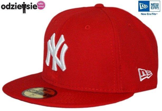 NEW ERA CZAPKA NY NEW YORK YANKEES RED