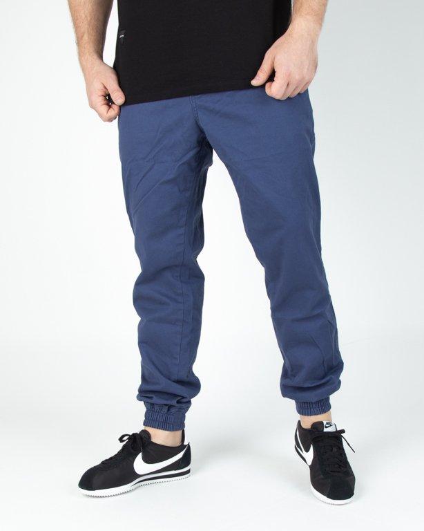 Spodnie New Bad Line Chino Jogger Icon Blue