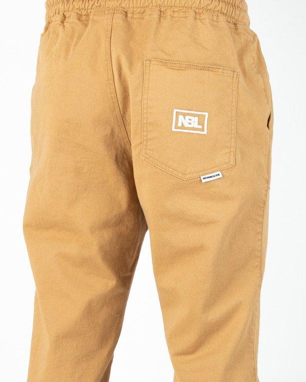 Spodnie New Bad Line Chino Jogger Icon Honey
