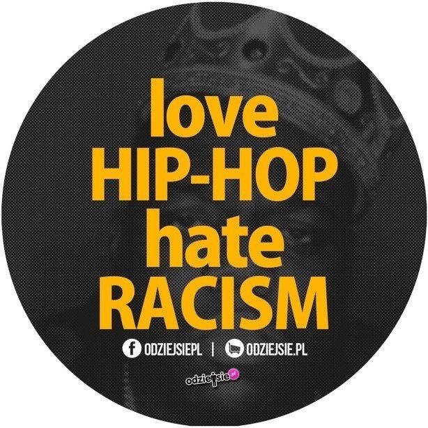 Odziejsie Wlepka Love Hip-Hop Black