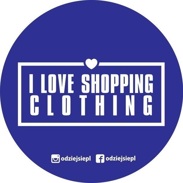 Odziejsie Wlepka Shopping Violet