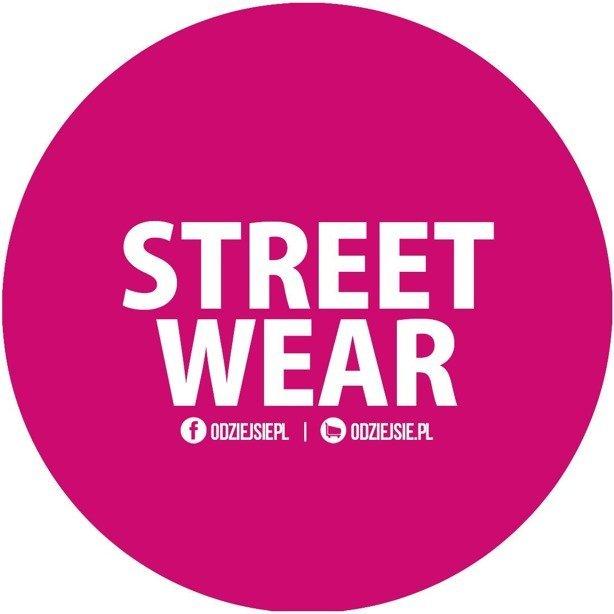 Odziejsie Wlepka Street Wear Pink
