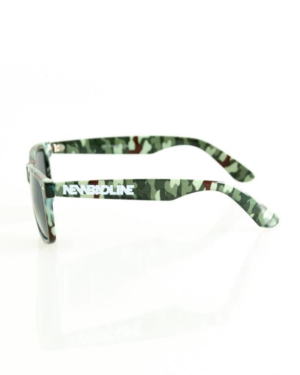 Okulary New Bad Line Classic Camo Flash 178
