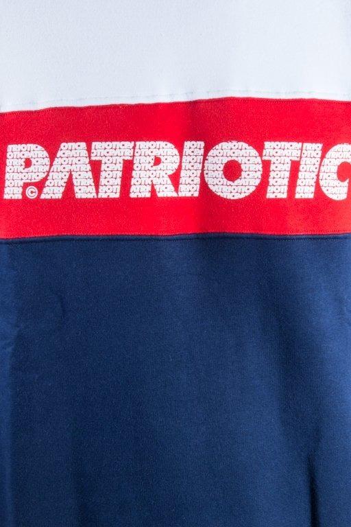 PATRIOTIC CREWNECK FF FONTS NAVY-WHITE-RED