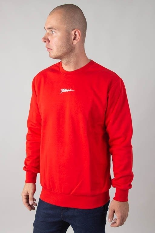 PATRIOTIC CREWNECK TAG MINI RED