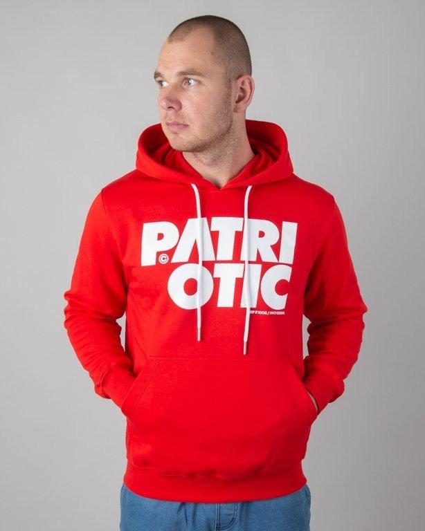 PATRIOTIC HOODIE CLS K RED