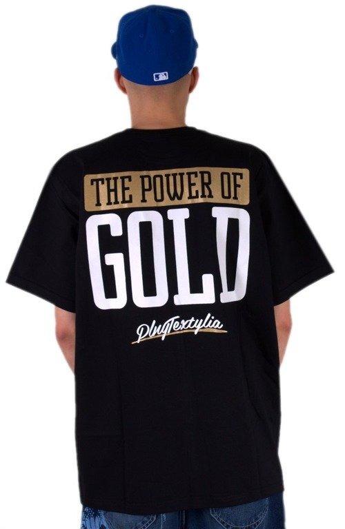 PLNY KOSZULKA POWER OF GOLD BLACK