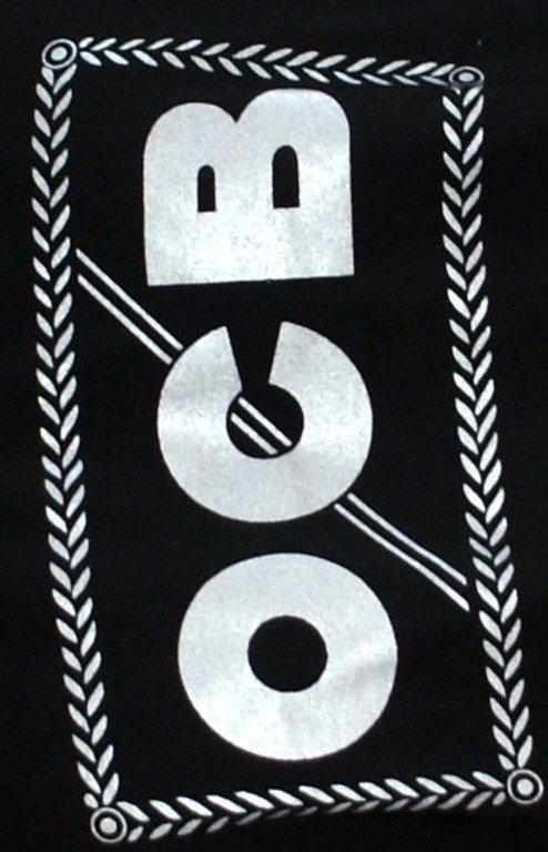 PROSTO KOSZULKA OCB V6 BLACK SILVER