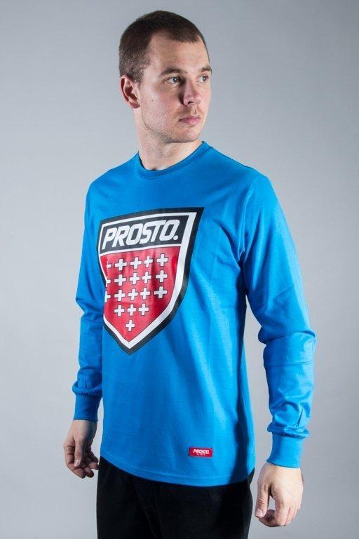 PROSTO LONGSLEEVE SHIELD BLUE