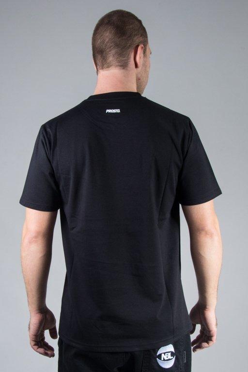 PROSTO T-SHIRT AROUND BLACK