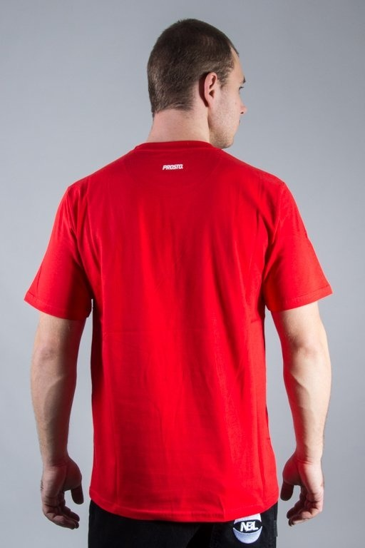PROSTO T-SHIRT DIMENSION RED