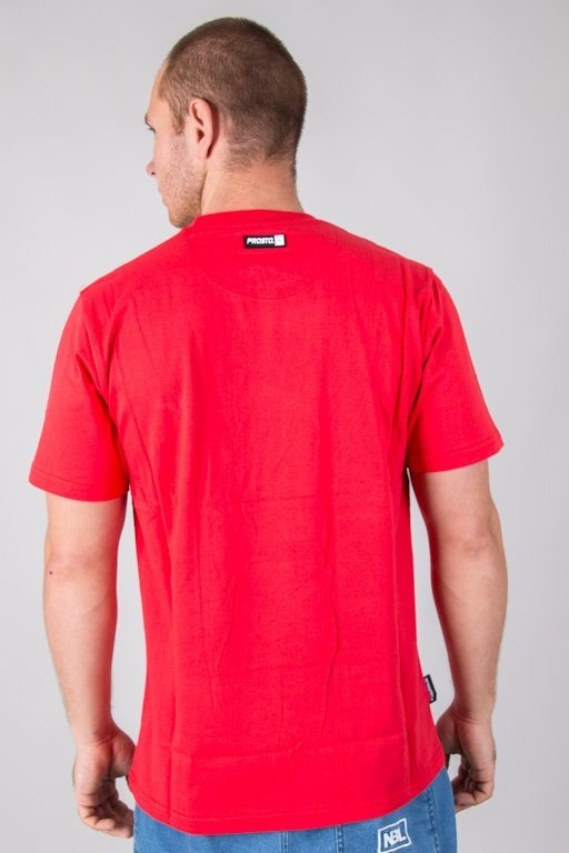 PROSTO T-SHIRT PAD RED