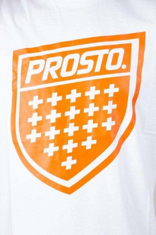 PROSTO T-SHIRT SHIELD XIX WHITE