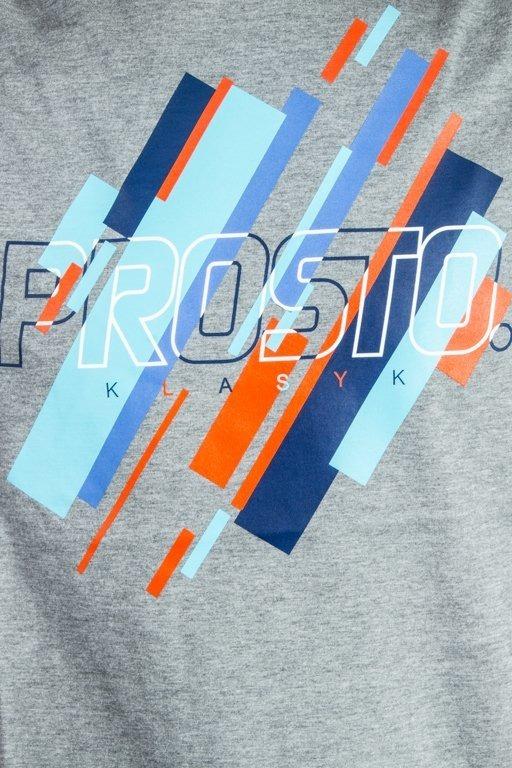 PROSTO T-SHIRT TACKS GREY