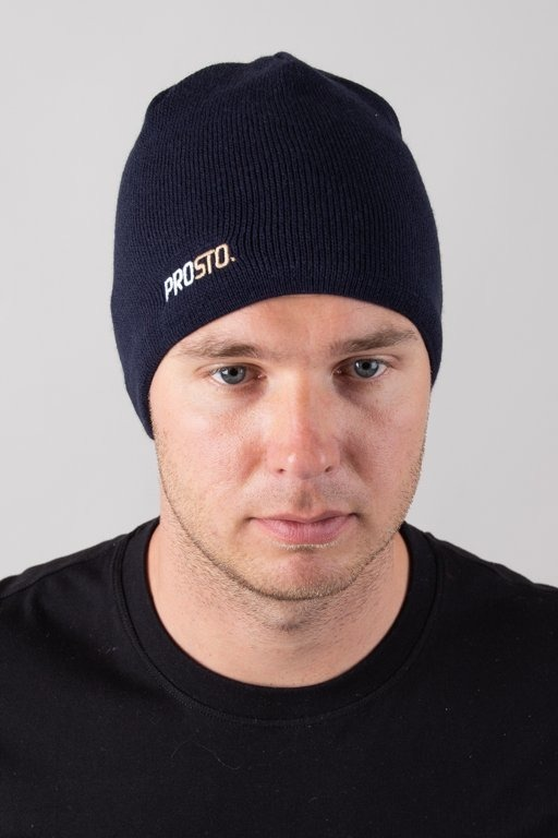 PROSTO WINTER CAP TWOLOG NAVY