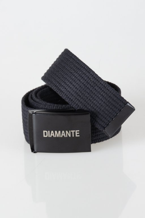 Pasek Diamante Wear Parciany Black