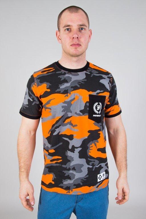 Patriotic Koszulka T-shirt P Laur Mini Camo Orange