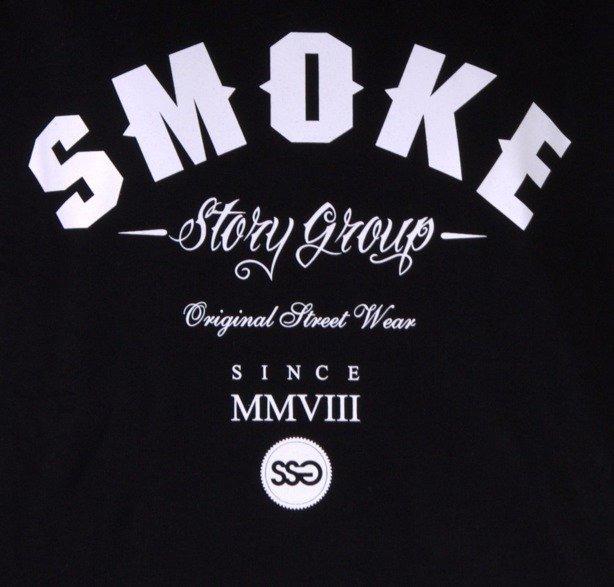SSG BLUZA BEZ KAPTURA SMOKE BLACK