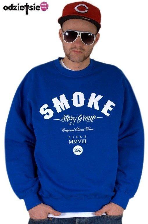 SSG BLUZA BEZ KAPTURA SMOKE BLUE