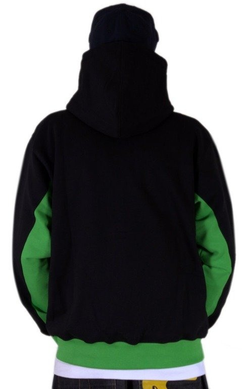 SSG BLUZA Z KAPTUREM SMOKE BLACK-GREEN