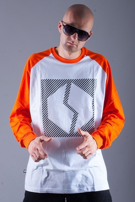 SSG LONGSLEEVE LOGO 2013 WHITE-ORANGE