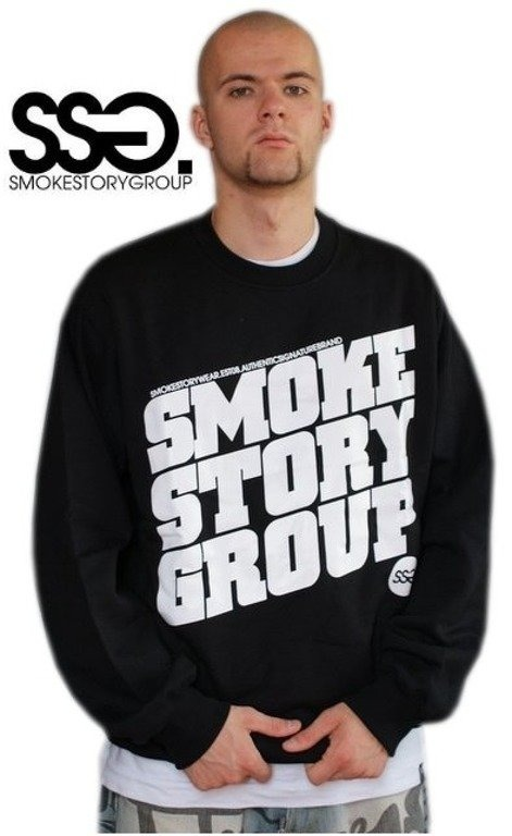 SSG SMOKE STORY BLUZA SM GROUP BLACK