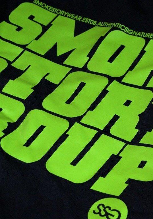 SSG SMOKE STORY BLUZA SM GROUP BLACK-GREEN