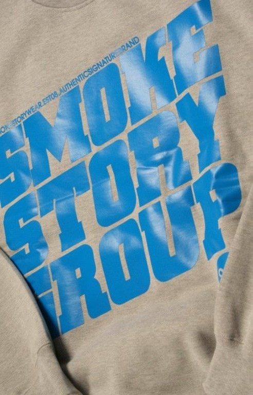 SSG SMOKE STORY BLUZA SM GROUP GREY-BLUE