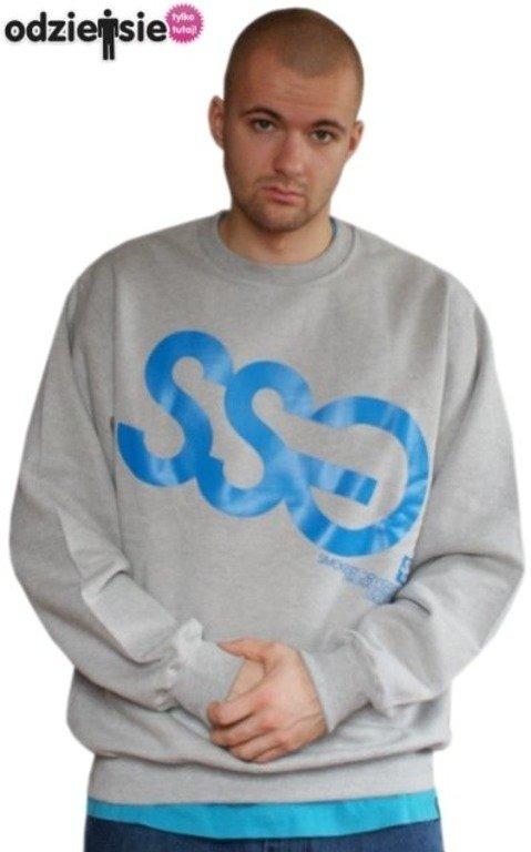 SSG SMOKE STORY GROUP BLUZA BIG GREY-BLUE