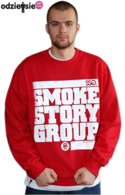 SSG SMOKE STORY GROUP BLUZA SM3 RED