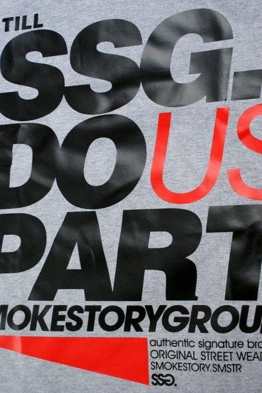 SSG SMOKE STORY GROUP KOSZULKA PART MELANGE