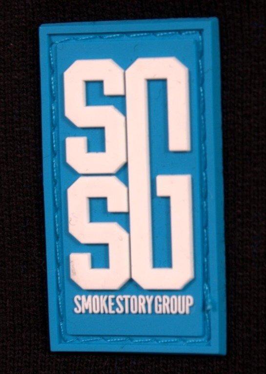SSG SPODNIE DRESOWE DOUBLE BLACK-BLUE