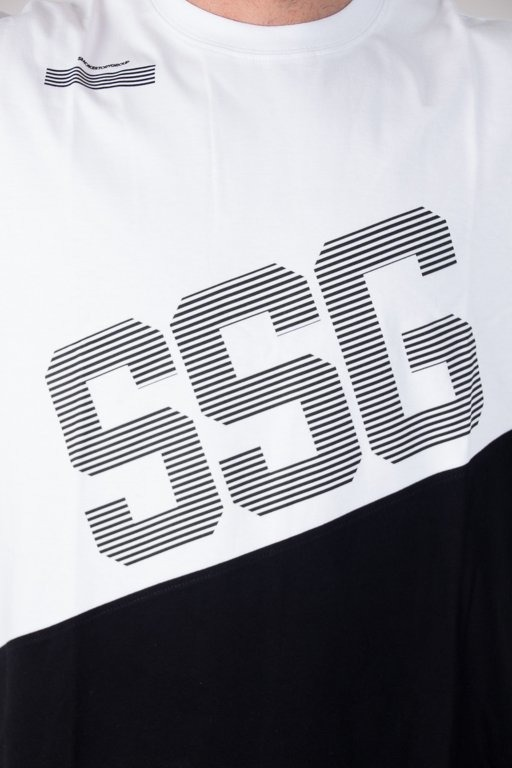 SSG T-SHIRT SSG BOTTOM COLOR WHITE
