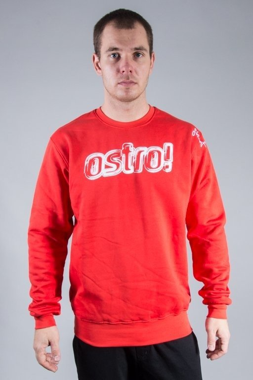 STOPROCENT CREWNECK OSTRO RED