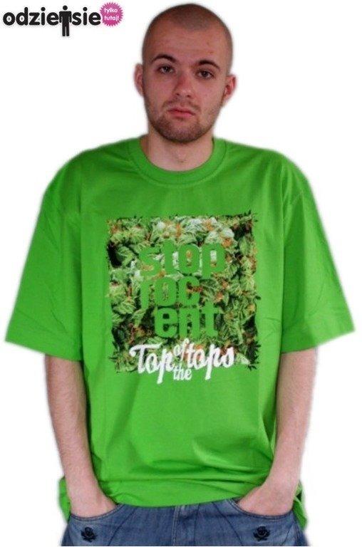 STOPROCENT KOSZULKA GRASS CUBE GREEN2