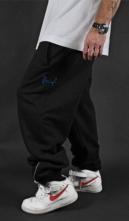 STOPROCENT SPODNIE DRESOWE SMALL TAG BLACK-BLUE