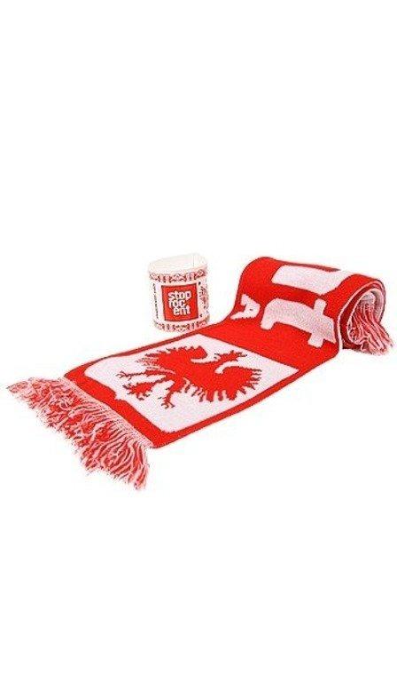 STOPROCENT SZALIK POLSKA RED-WHITE