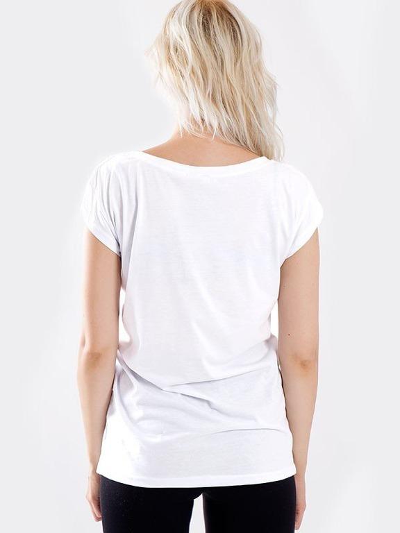 STOPROCENT T-SHIRT GIRL PASTEL WHITE