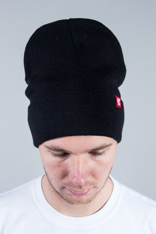 STOPROCENT WINTER CAP LONG BLACK