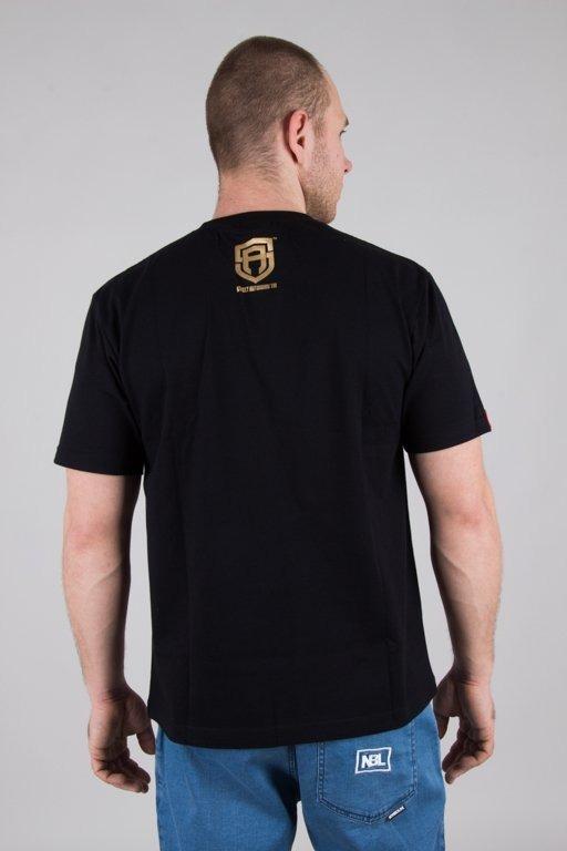 STREET AUTONOMY T-SHIRT CLASSIC LOGO BLACK-GOLD