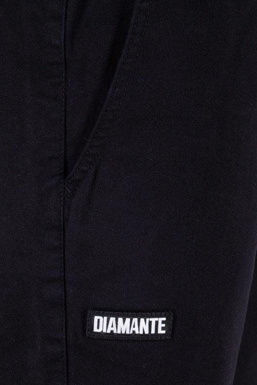 Spodenki Diamante Wear Chino Jogger Black