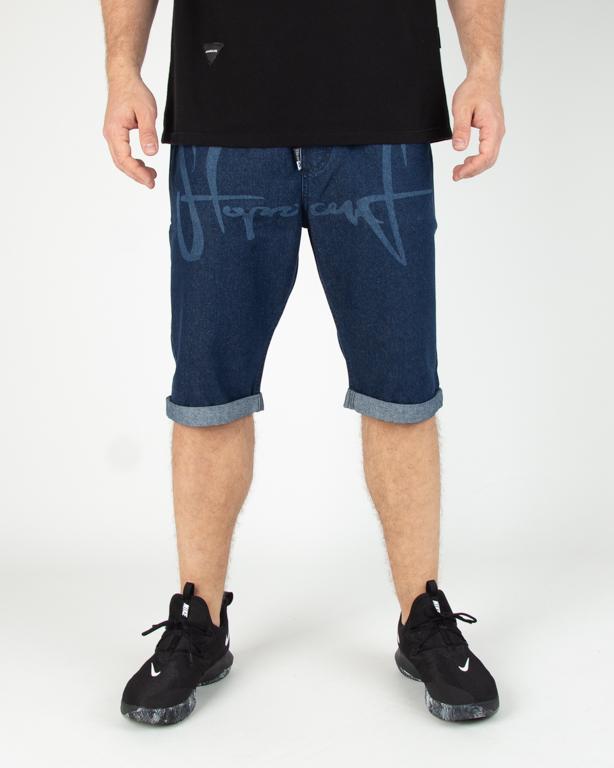 Spodenki Jeansowe Stoprocent Laser Blue