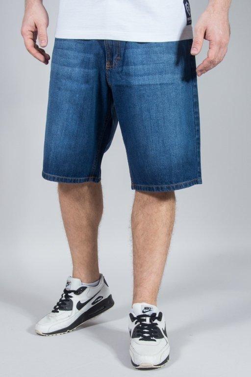 Spodenki SSG Jeansowe Wycierane Medium