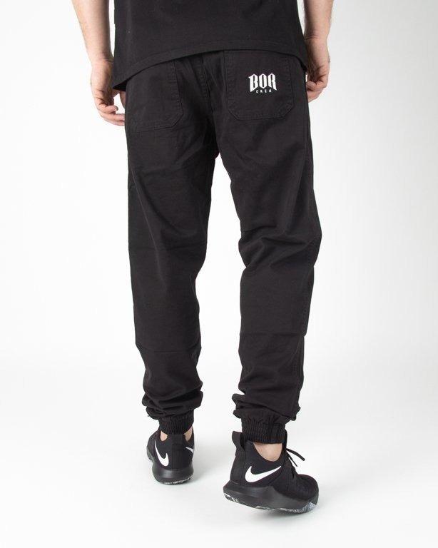 Spodnie Bor Chino Jogerry Bor New Outline Black