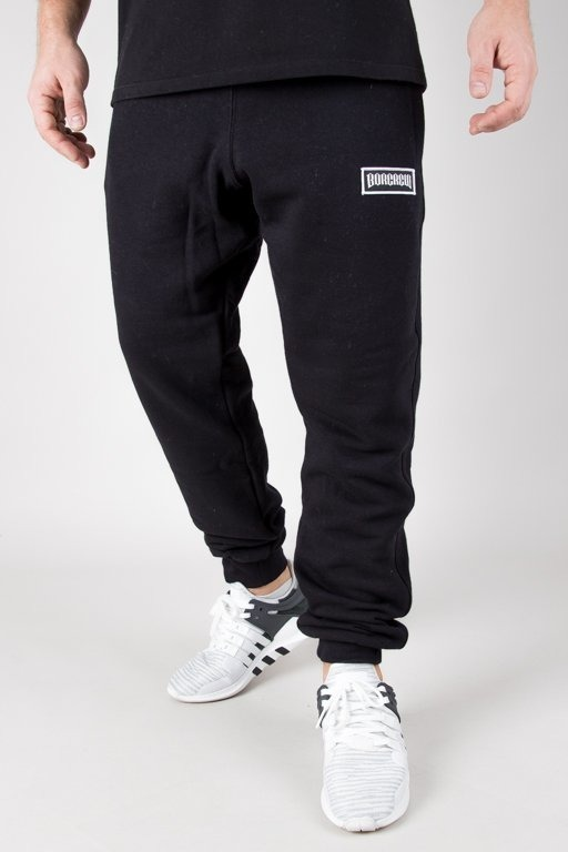 Spodnie Bor Dresowe Bor New Outline Black
