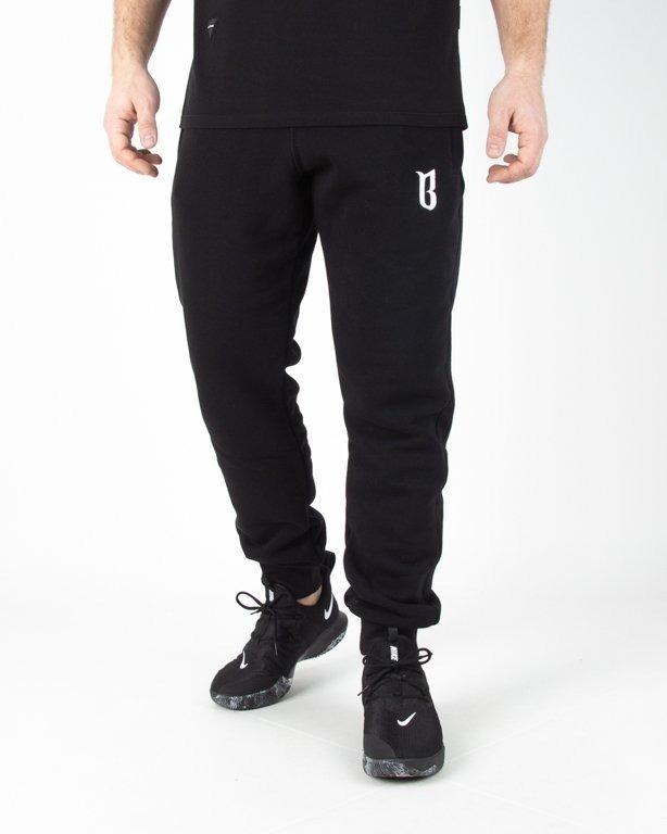 Spodnie Bor Dresowe Classic Borcrew Black