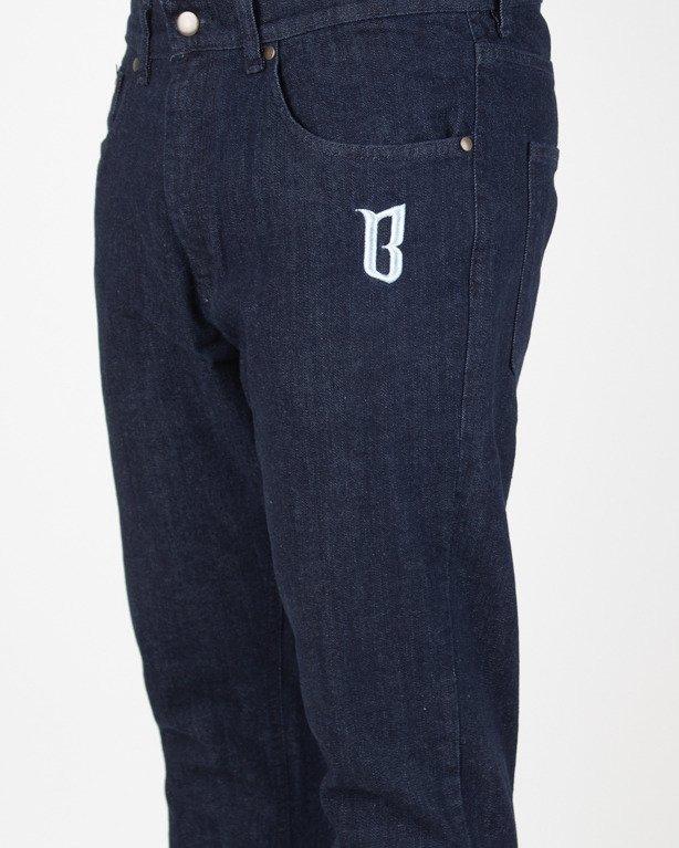 Spodnie Bor Jeansy Classic Borcrew Dark