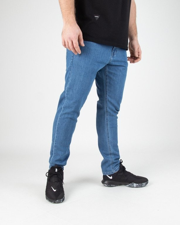 Spodnie Bor Jeansy Classic Borcrew Light