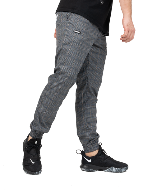 Spodnie Chino Jogger Unisex Diamante Wear Krata Grey