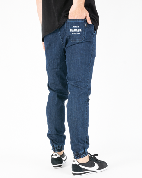 Spodnie Diamante Wear Jeans Jogger Rm Dark
